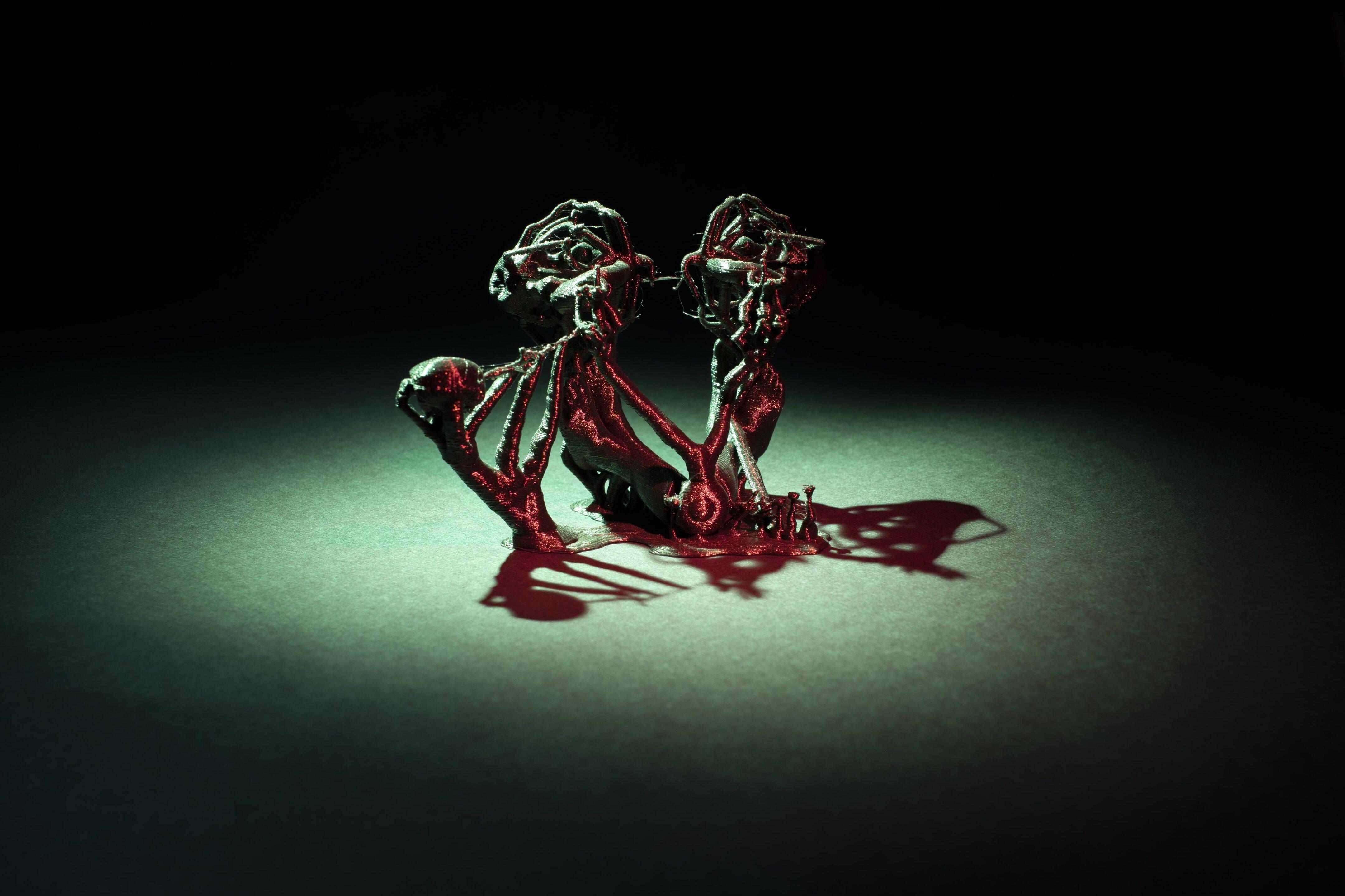 Monster aus dem 3D Drucker